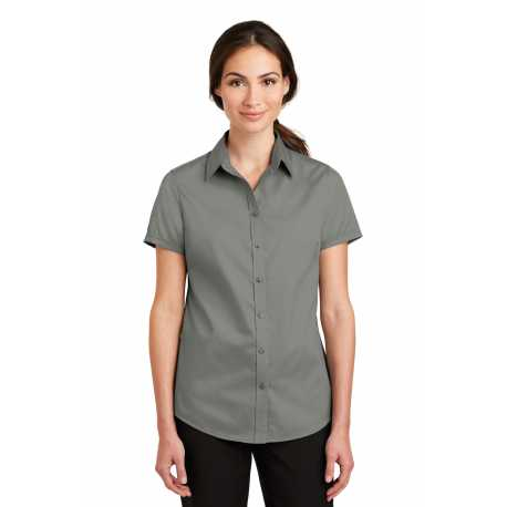 Port Authority L664 Ladies Short Sleeve SuperPro Twill Shirt