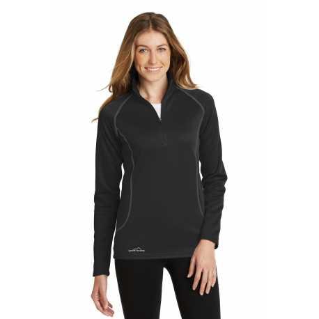 Eddie Bauer EB237 Ladies 1/2-Zip Base Layer Fleece