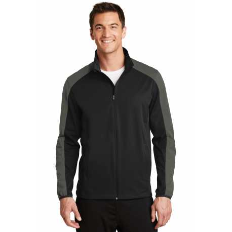 Port Authority J718 Active Colorblock Soft Shell Jacket