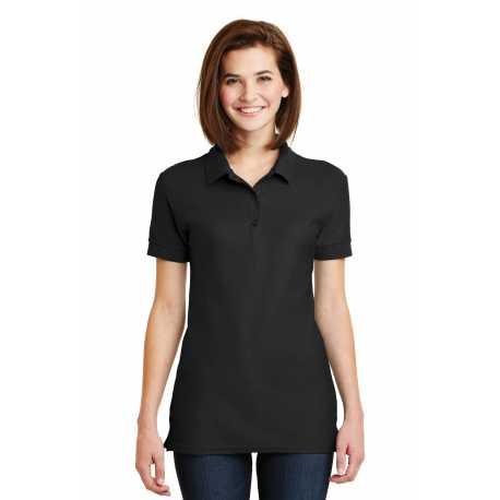 Gildan 82800L Ladies 6.6-Ounce 100% Double Pique Cotton Sport Shirt