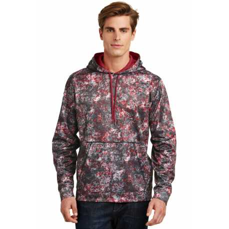 Sport-Tek ST230 Sport-Wick Mineral Freeze Fleece Hooded Pullover