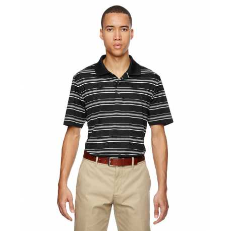 Adidas Golf A123 Men's puremotion Textured Stripe Polo
