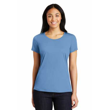 Sport-Tek LST450 Ladies PosiCharge Competitor Cotton Touch Scoop Neck Tee