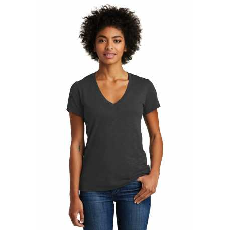 Alternative Apparel AA6097 Weathered Slub So-Low V-Neck Tee
