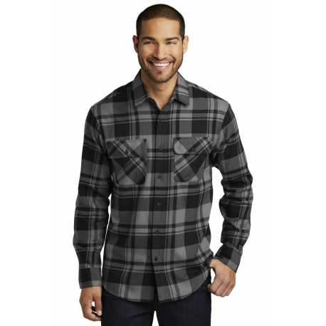 Port Authority W668 Plaid Flannel Shirt