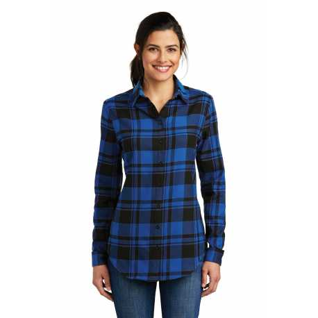 Port Authority LW668 Ladies Plaid Flannel Tunic