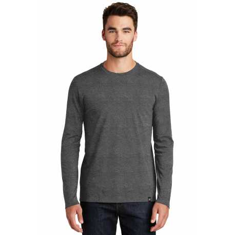 New Era NEA102 Heritage Blend Long Sleeve Crew Tee