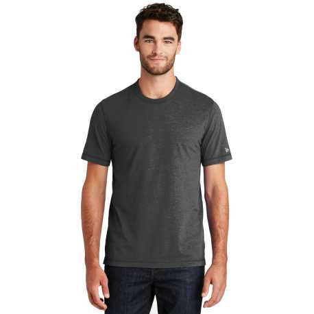 New Era NEA120 Sueded Cotton Crew Tee