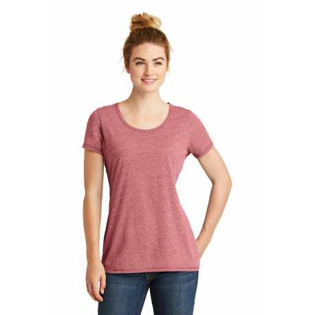 New Era LNEA130 Ladies Tri-Blend Performance Scoop Tee