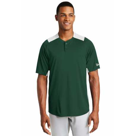 New Era NEA221 Diamond Era 2-Button Jersey