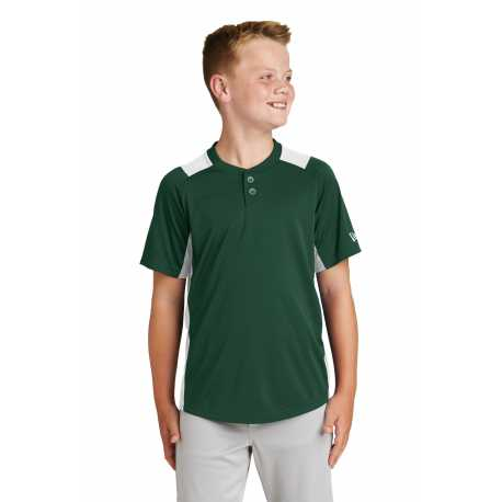 New Era YNEA221 Youth Diamond Era 2-Button Jersey