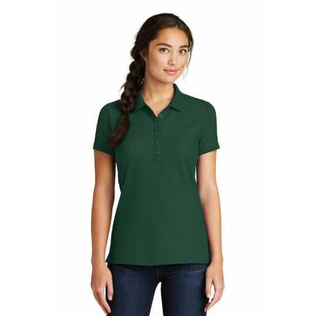 New Era LNEA300 Ladies Venue Home Plate Polo