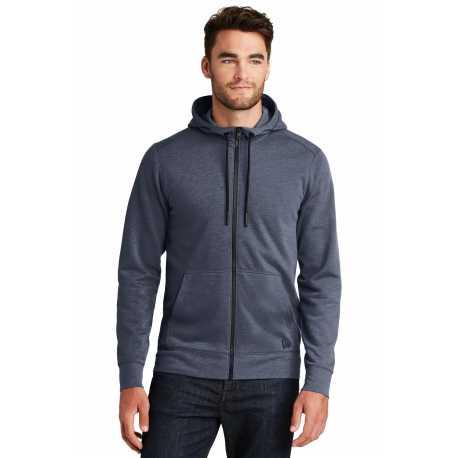 New Era NEA511 Tri-Blend Fleece Full-Zip Hoodie