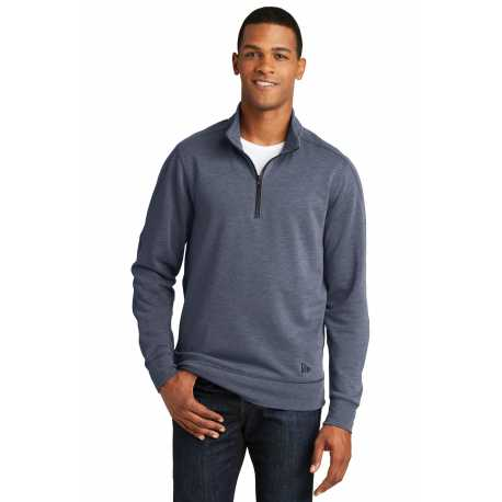 New Era NEA512 Tri-Blend Fleece 1/4-Zip Pullover