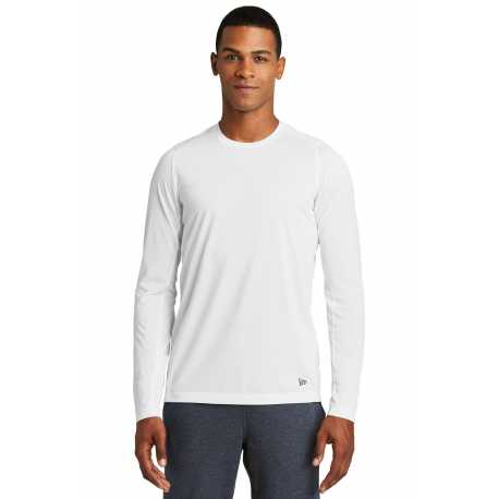 New Era NEA201 Series Performance Long Sleeve Crew Tee
