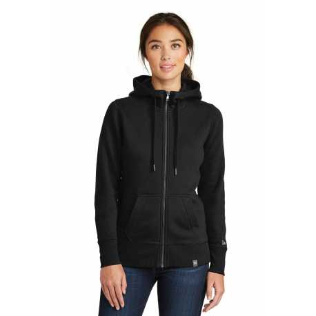 New Era LNEA502 Ladies French Terry Full-Zip Hoodie