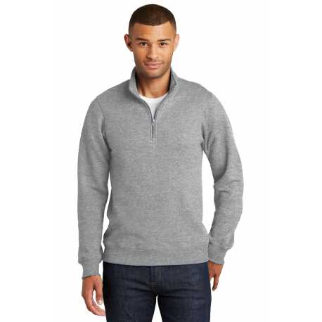 Port & Company PC850Q Fan Favorite Fleece 1/4-Zip Pullover Sweatshirt