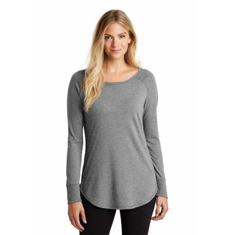 District Made Made DT132L Made Ladies Perfect Tri Long Sleeve