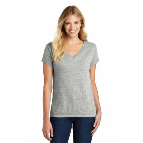 District Made Made DM465A Made Ladies Cosmic V-Neck Tee