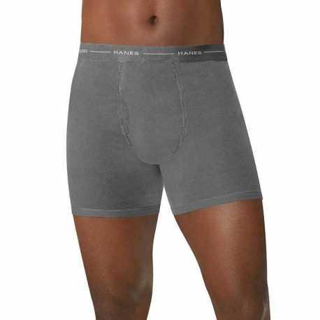 Hanes 0312HNBX TAGLESS Men's Boxer Briefs 4-Pack