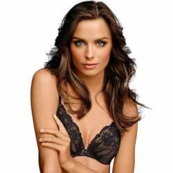 Maidenform 09443 Comfort Devotion Embellished Plunge Push-Up Bra