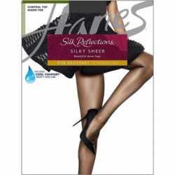 Hanes 0A925 Silk Reflections Lasting Sheer Control Top Pantyhose