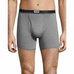 Hanes 191BA4 Men's 1901 Heritage Dyed Boxer Briefs Assorted 4-Pack
