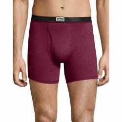 Hanes 191BB4 Men's 1901 Heritage Dyed Boxer Briefs Assorted 4-Pack