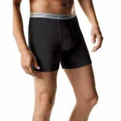 Hanes 2349AT ComfortSoft TAGLESS Men's Boxer Briefs 2-Pack