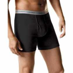 Hanes 2349Z5 Men's Boxer Briefs with Comfort Flex Waistband 5-Pack