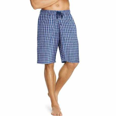 Hanes 25170 Men's Woven Plaid Shorts 2-Pack
