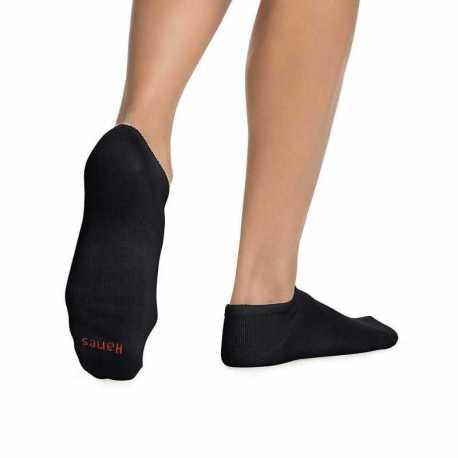 Hanes 401/6P Women's ComfortBlend No-Show Socks 6-Pack