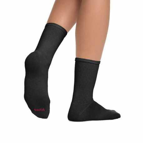 Hanes 404/6P Women's ComfortBlend Crew Socks 6-Pack