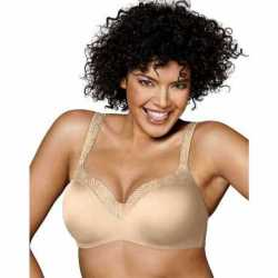 Playtex 4823H Love My Curves Amazing Shape Balconette Underwire Bra
