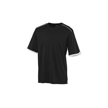 Augusta Sportswear 5043 Adult Wicking Polyester Short Sleeve T-Shirt with Contrast Piping
