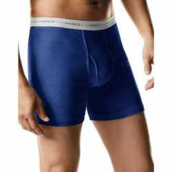 Hanes 7349C4 Men's TAGLESS 2XL Boxer Briefs with Comfort Flex Waistband 4-Pack