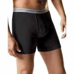 Hanes 7349Z6 Men's TAGLESS Boxer Brief with Comfort Flex Waistband 6-Pack (Includes 1 Free Bonus Boxer Brief)