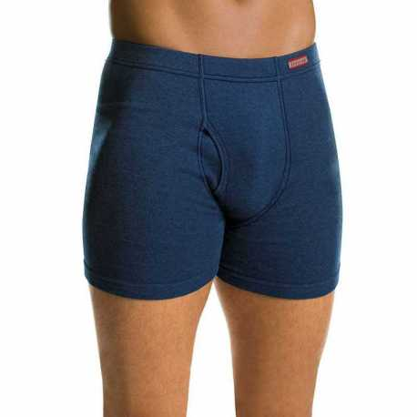 Hanes 7460P4 Men's TAGLESS Boxer Briefs with ComfortSoft Waistband 4-Pack (2X-3X)