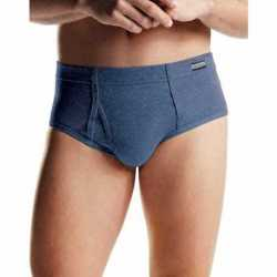 Hanes 7820N6 Men's TAGLESS No Ride Up Briefs with ComfortSoft Waistband 6-Pack