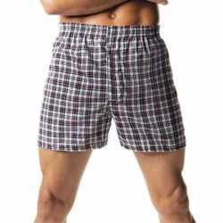 Hanes 833P2 ComfortSoft TAGLESS Men's Tartan Boxers 2-Pack