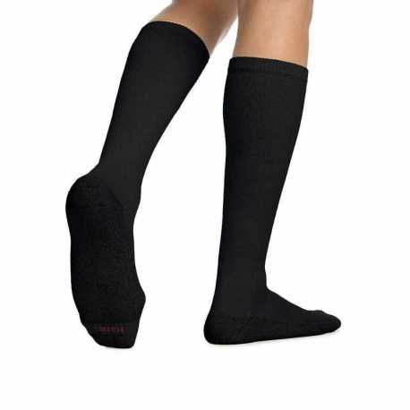 Hanes 909/6 ComfortBlend Over-the-Calf Crew Socks 6-Pack