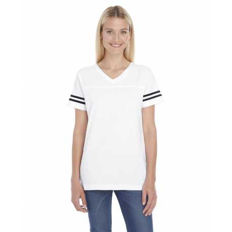 LAT 3537 Ladies' Football Fine Jersey T-Shirt