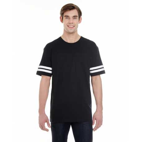 LAT 6937 Adult Football Fine Jersey T-Shirt