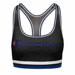 Champion B1251O Y07038 The Absolute Mesh Sports Bra, Script Logo