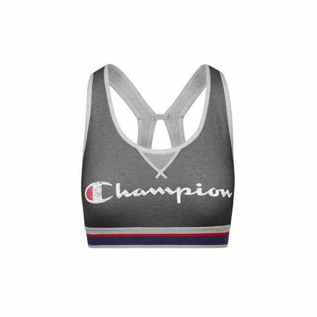 Champion B1429G 549694 Women The Authentic Sports Bra- Script two colorway