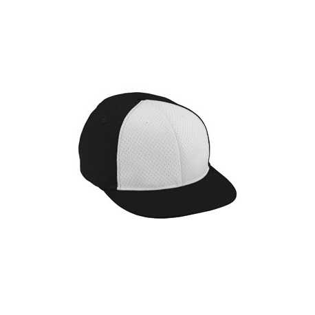 Augusta Sportswear 6256 Youth Ath Mesh Flat Bill Cap