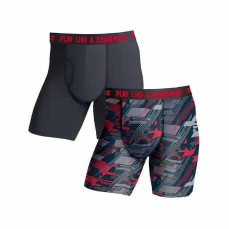 Champion CHLWA3 Men's Ultra Lightweight Regular Leg Boxer Brief 2-Pack