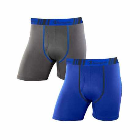 Champion CHTRA2 Men's Tech Performance Regular Leg Boxer Brief 2-Pack