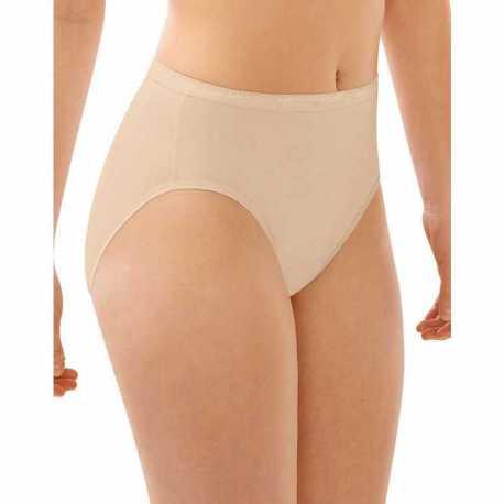 Bali DFFF62 Full-Cut Fit Hi-Cut Panty