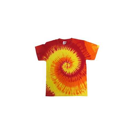 Tie-Dye CD100 Adult 5.4 oz., 100% Cotton Tie-Dyed T-Shirt